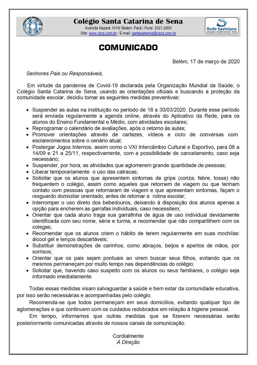 COMUNICADO-17-03-2020