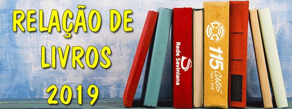 relação de livros